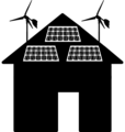Domestic renewable - microgeneration icon.png