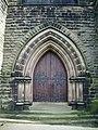 Doorway, The Parish of Christ Church, Aughton - geograph.org.uk - 535537.jpg