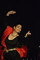Dorothy Bhattacharya Dancing With Rabindra Sangeet - Sriniketan - Birbhum - 2017-10-21 5132.JPG
