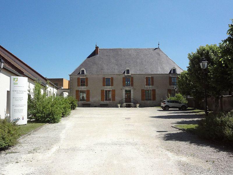 Doulaincourt, château de Montrol, bâtiment principal