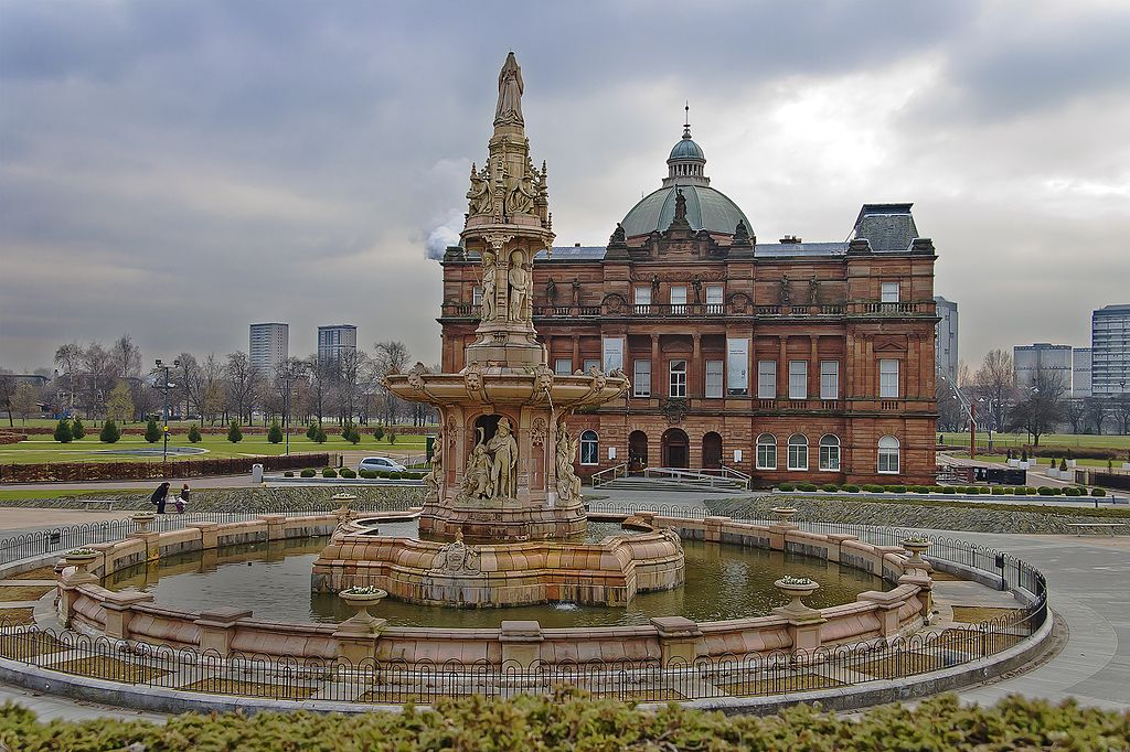 Doulton Fountain and Peoples Palace Glasgow Green - Photo de dun_deagh