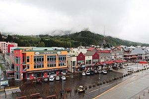 National Register of Historic Places listings in Ketchikan Gateway Borough, Alaska - Image: Downtown Ketchikan panoramio
