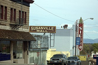 Susanville, California - Another view of Uptown Susanville