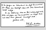 Dr. Babasaheb Ambedkar written a letter to the Bonn University in fluent German language.jpg