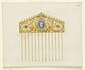 Drawing, Design for a comb, 1810–20 (CH 18554945).jpg