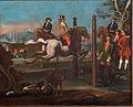 Dresura konja- Skakanje čez zapreke (po Georgu Philippu Rugendasu).jpg