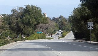 Sand Hill Road - Image: Driving down Sandhill Road
