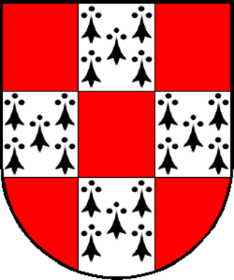 Guy I de la Roche - Coat of arms of Guy I