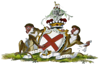 Duke of Leinster - Arms of the Duke of Leinster
