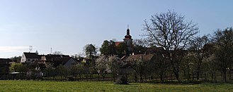 Dukovany - The church St. Vaclav