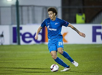 Axel Witsel - Witsel playing for Zenit Saint Petersburg against Dundolk in 2016