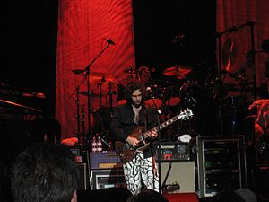 "Dweezil Zappa - Dweezil Zappa performing on the ""Zappa Plays Zappa"" tour in 2006."