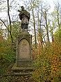 Dymokury, socha svatého Jana Nepomuckého.jpg