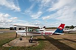 EGLK - Cessna 152 - G-BRBP (42266435030).jpg