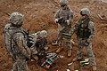 EOD soldiers prepare to blow weapons cache DVIDS219029.jpg
