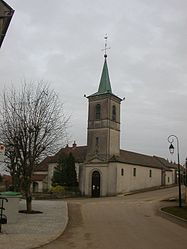 The church in Étaules