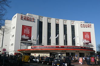 C. Howard Crane - The now demolished iconic Earl's Court Exhibition Centre
