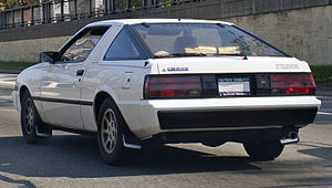 Mitsubishi Starion - Early, narrow-bodied US market Starion