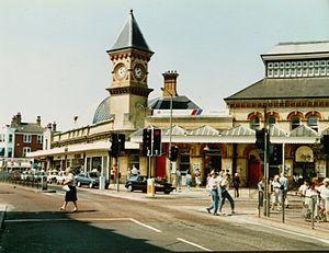 East Coastway line - Eastbourne railway station