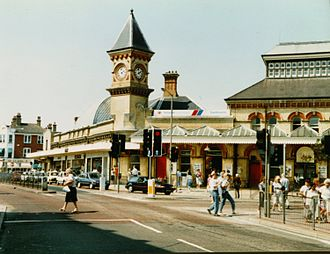 East Coastway line - Eastbourne railway station