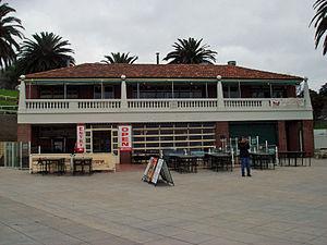 Eastern Beach (Victoria) - Kiosk building