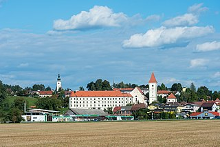 Eberndorf Place in Carinthia, Austria