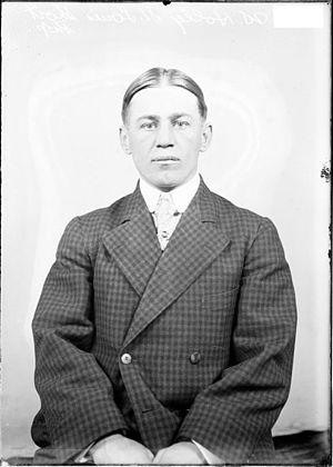 Ed Holly - Holly in 1907