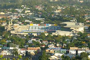 Eden Park - Eden Park in 2005 prior to redevelopment