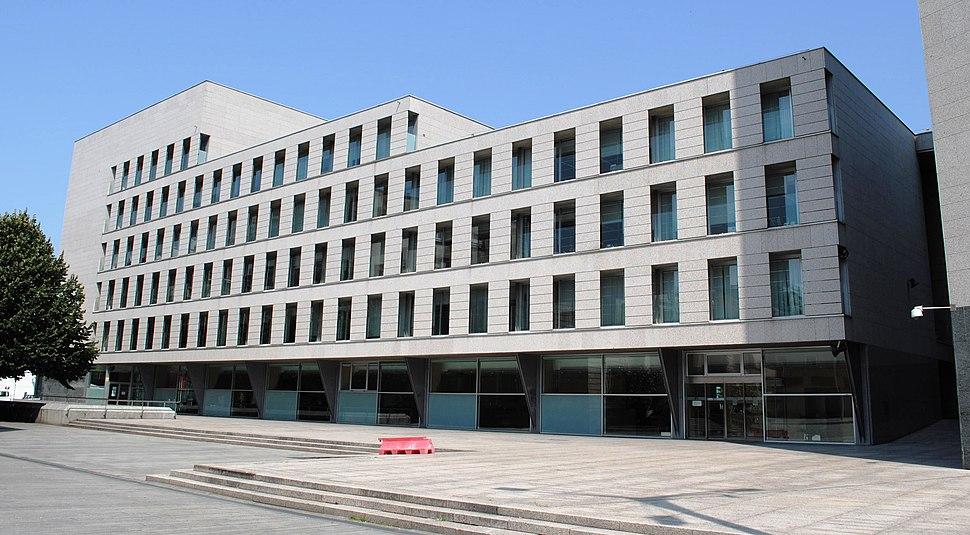 Edificio da Xunta de Galicia, Vigo, fachada sur