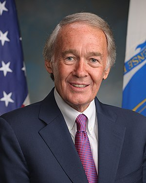 United States congressional delegations from Massachusetts - Senator Ed Markey (D)