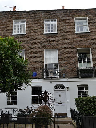 Frankie Howerd - 27 Edwardes Square, London, UK