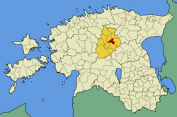 Kareda Parish within Järva County.