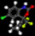 Efavirenz 3D balls 1fk9.png