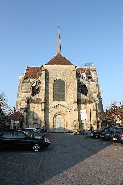 Eglise Saint-Ferréol d'Essômes sur Marne (Aisne).