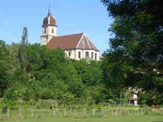 Scey-sur-Saône-et-Saint-Albin - Image: Eglise de scey sur saône