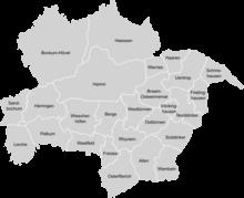 73a5cc78a19871 Ehemalige Gemeinden auf dem heutigen Stadtgebiet von Hamm