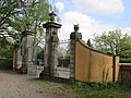 Ehemaliges Portal des Küchengartens - Hannover-Linden Stadtfriedhof Am Lindener Berge (Lindener Bergfriedhof) - panoramio (1).jpg