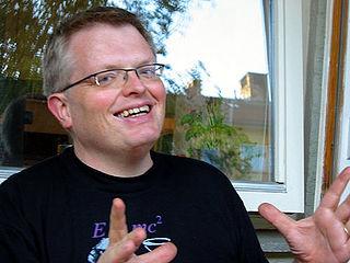Eirik Newth Norwegian astrophysicist and author