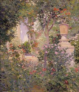 José Benlliure y Gil - Image: El jardí de l'autor, Josep Benlliure Gil, Museu de Belles Arts de València