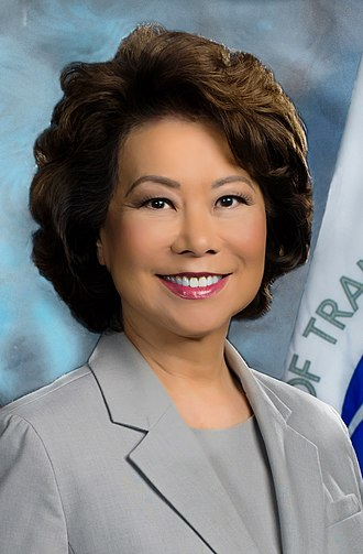 United States Secretary of Transportation - Image: Elaine Chao official portrait (cropped)