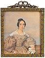 Elisabeth Pfenninger - A Lady, in buff-coloured dress.jpg