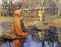 Elizabeth Adela Forbes - Medieval Woodland Scene.jpg