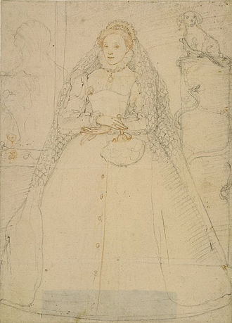 Federico Zuccari - Zuccari's famed sketch of Queen Elizabeth I.