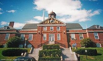 Ellsworth, Maine - Ellsworth City Hall (1935)