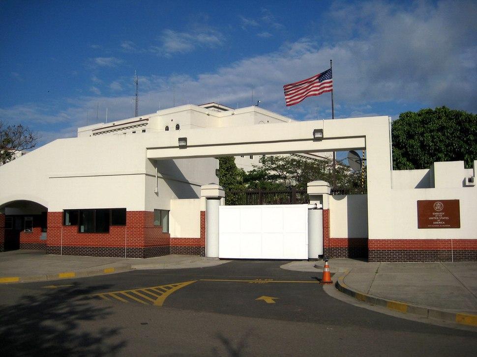 Embassy of the United States of America in San Salvador, El Salvador