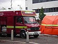 Emergency services at University of Southampton after Mountbatten building fire 3.jpg