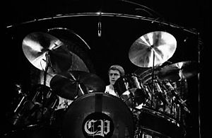 Carl Palmer - Palmer performing on 3 February 1978 with Emerson, Lake & Palmer in Toronto