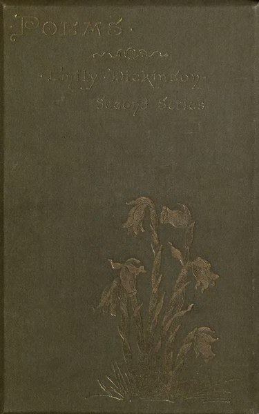 File:Emily Dickinson Poems - second series (1891).djvu