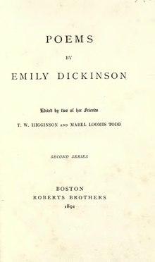 Emily Dickinson Poetry...?