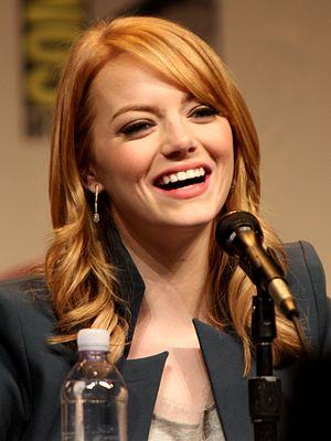 Emma Stone - Stone at WonderCon in 2012